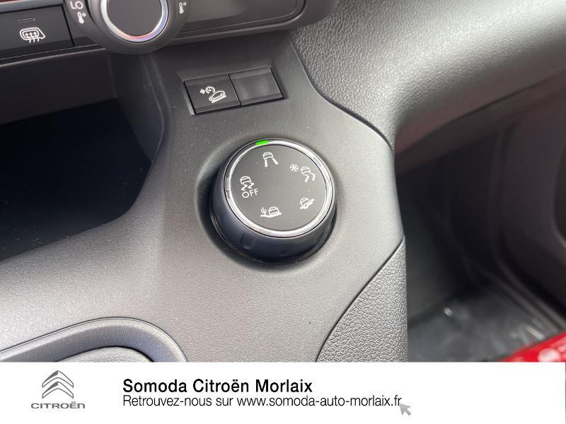 Photo 16 de l'offre de CITROEN Berlingo Van M 1000kg BlueHDi 100 S&S Worker à 19080€ chez Somoda - Citroën Morlaix