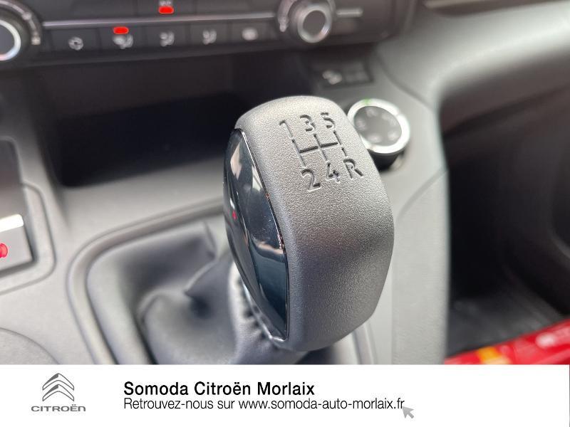 Photo 15 de l'offre de CITROEN Berlingo Van M 1000kg BlueHDi 100 S&S Worker à 19080€ chez Somoda - Citroën Morlaix
