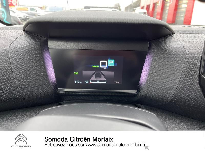 Photo 14 de l'offre de CITROEN C4 Moteur électrique 136ch (100 kW) Feel Pack Automatique à 38500€ chez Somoda - Citroën Morlaix