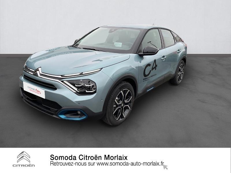 Photo 1 de l'offre de CITROEN C4 Moteur électrique 136ch (100 kW) Feel Pack Automatique à 38500€ chez Somoda - Citroën Morlaix