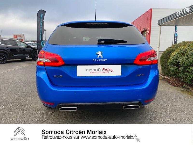 Photo 5 de l'offre de PEUGEOT 308 SW 1.2 PureTech 130ch S&S GT Pack à 26990€ chez Somoda - Citroën Morlaix