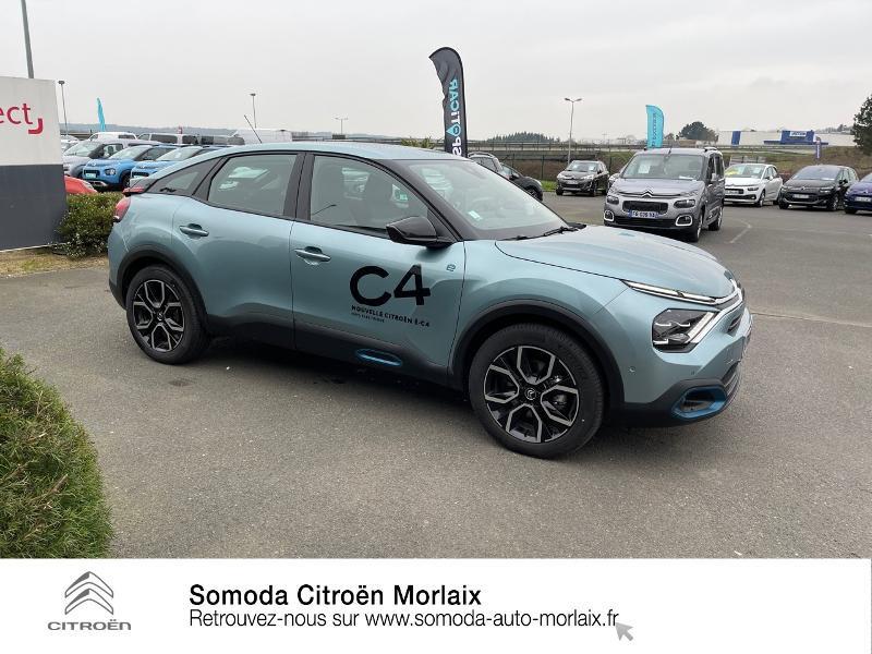 Photo 4 de l'offre de CITROEN C4 Moteur électrique 136ch (100 kW) Feel Pack Automatique à 38500€ chez Somoda - Citroën Morlaix