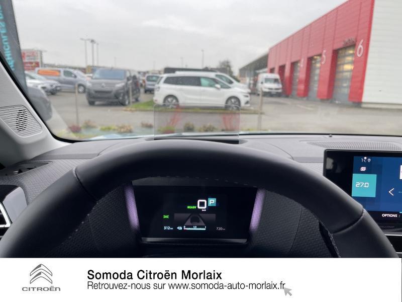 Photo 12 de l'offre de CITROEN C4 Moteur électrique 136ch (100 kW) Feel Pack Automatique à 38500€ chez Somoda - Citroën Morlaix