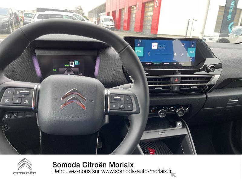 Photo 15 de l'offre de CITROEN C4 Moteur électrique 136ch (100 kW) Feel Pack Automatique à 38500€ chez Somoda - Citroën Morlaix