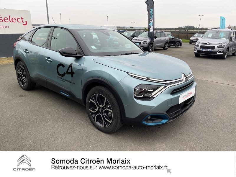 Photo 3 de l'offre de CITROEN C4 Moteur électrique 136ch (100 kW) Feel Pack Automatique à 38500€ chez Somoda - Citroën Morlaix