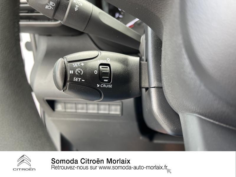 Photo 18 de l'offre de CITROEN Berlingo Van M 1000kg BlueHDi 100 S&S Worker à 19080€ chez Somoda - Citroën Morlaix