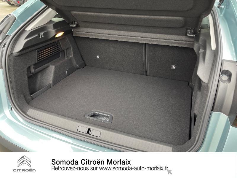 Photo 6 de l'offre de CITROEN C4 Moteur électrique 136ch (100 kW) Feel Pack Automatique à 38500€ chez Somoda - Citroën Morlaix