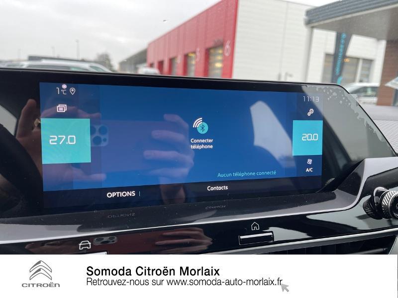 Photo 18 de l'offre de CITROEN C4 Moteur électrique 136ch (100 kW) Feel Pack Automatique à 38500€ chez Somoda - Citroën Morlaix