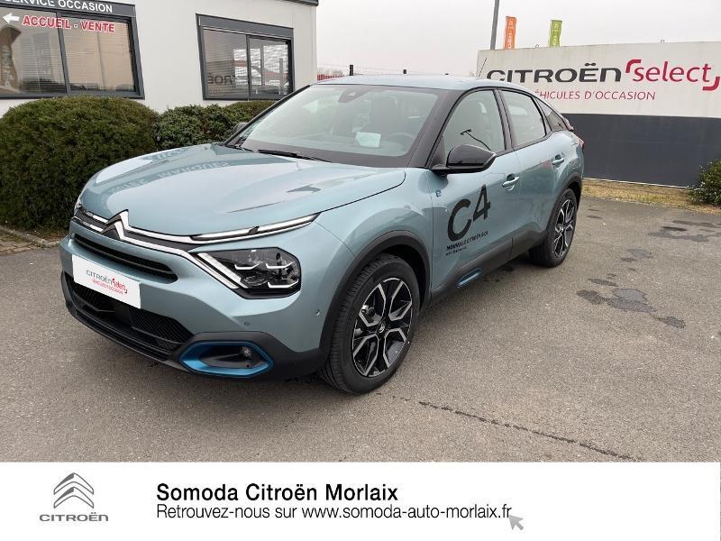 Photo 21 de l'offre de CITROEN C4 Moteur électrique 136ch (100 kW) Feel Pack Automatique à 38500€ chez Somoda - Citroën Morlaix