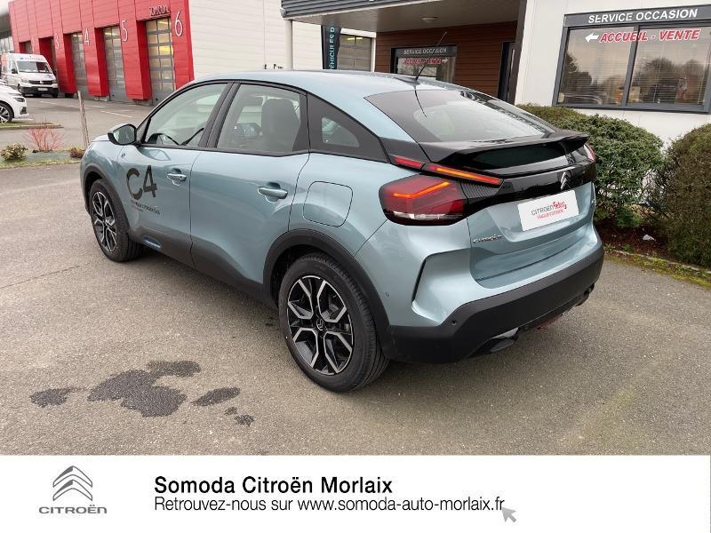 Photo 7 de l'offre de CITROEN C4 Moteur électrique 136ch (100 kW) Feel Pack Automatique à 38500€ chez Somoda - Citroën Morlaix