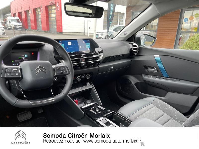 Photo 8 de l'offre de CITROEN C4 Moteur électrique 136ch (100 kW) Feel Pack Automatique à 38500€ chez Somoda - Citroën Morlaix