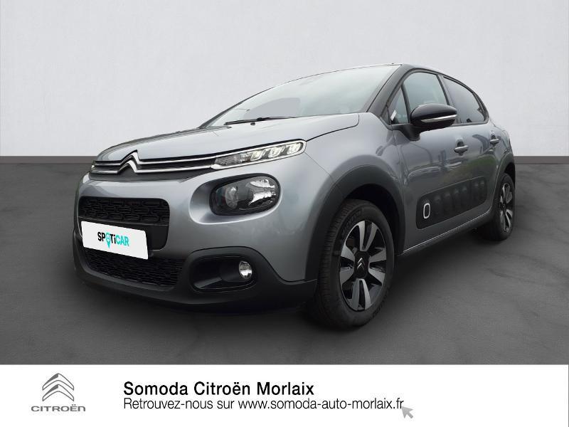 Photo 1 de l'offre de CITROEN C3 1.2 PureTech 110ch S&S Shine 124g à 17490€ chez Somoda - Citroën Morlaix