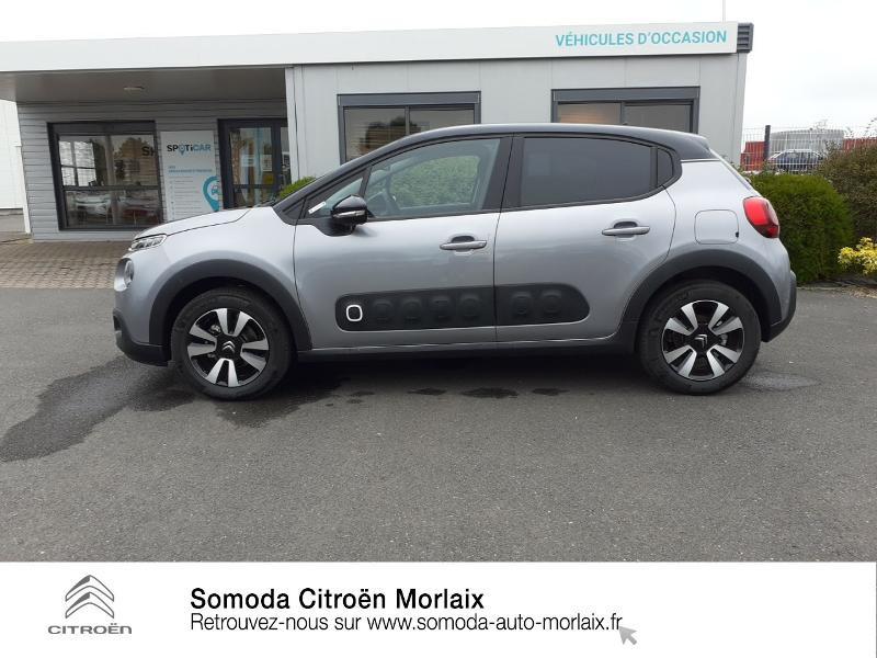 Photo 4 de l'offre de CITROEN C3 1.2 PureTech 110ch S&S Shine 124g à 17490€ chez Somoda - Citroën Morlaix
