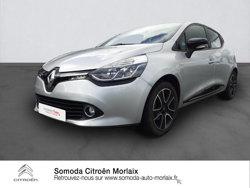 Renault Clio 0.9 TCe 90ch energy Limited Euro6 2015 Essence Gris Clair Occasion à vendre