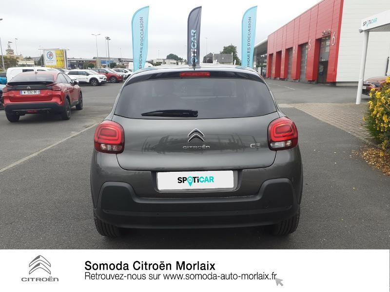 Photo 5 de l'offre de CITROEN C3 1.5 BlueHDi 100ch S&S Shine Pack E6.d à 19990€ chez Somoda - Citroën Morlaix