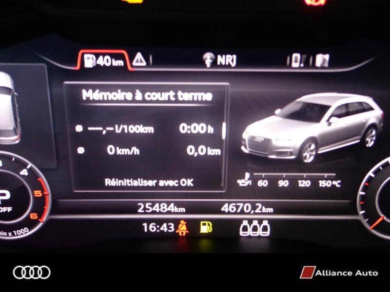 Photo 13 de l'offre de AUDI A4 Avant 2.0 TDI 150ch S line S tronic 7 à 33290€ chez Alliance Auto – Audi Morlaix
