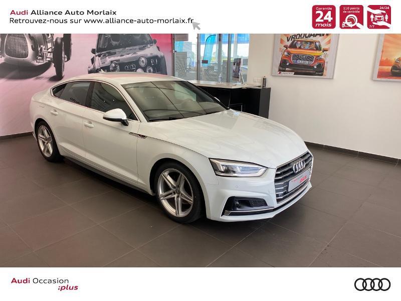 Photo 1 de l'offre de AUDI A5 Sportback 35 TFSI 150ch S line S tronic 7 Euro6d-T à 38290€ chez Alliance Auto – Audi Morlaix