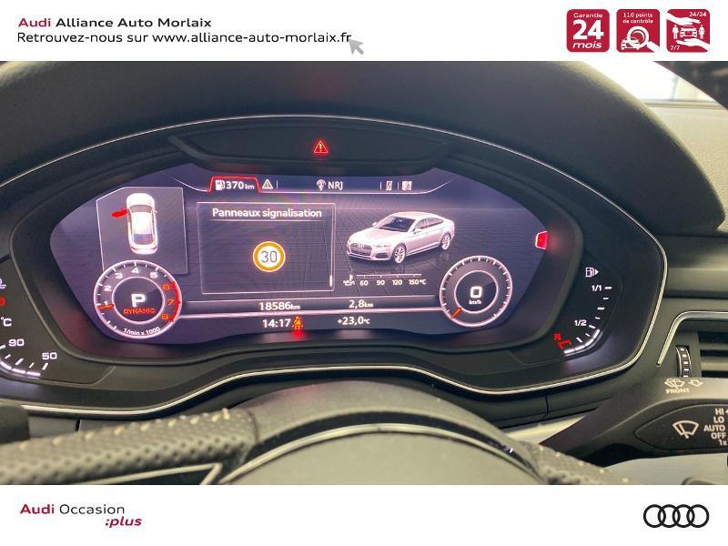 Photo 18 de l'offre de AUDI A5 Sportback 35 TFSI 150ch S line S tronic 7 Euro6d-T à 38290€ chez Alliance Auto – Audi Morlaix