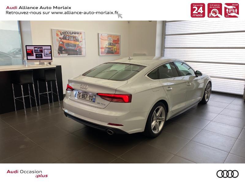 Photo 3 de l'offre de AUDI A5 Sportback 35 TFSI 150ch S line S tronic 7 Euro6d-T à 38290€ chez Alliance Auto – Audi Morlaix