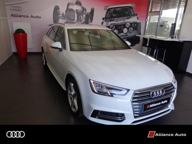 Photo 1 de l'offre de AUDI A4 Avant 2.0 TDI 150ch S line S tronic 7 à 33290€ chez Alliance Auto – Audi Morlaix