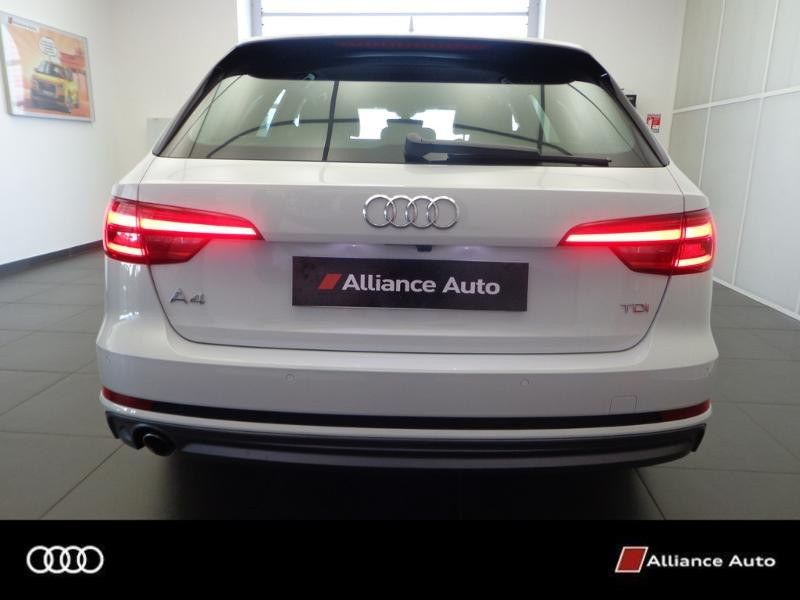 Photo 8 de l'offre de AUDI A4 Avant 2.0 TDI 150ch S line S tronic 7 à 33290€ chez Alliance Auto – Audi Morlaix