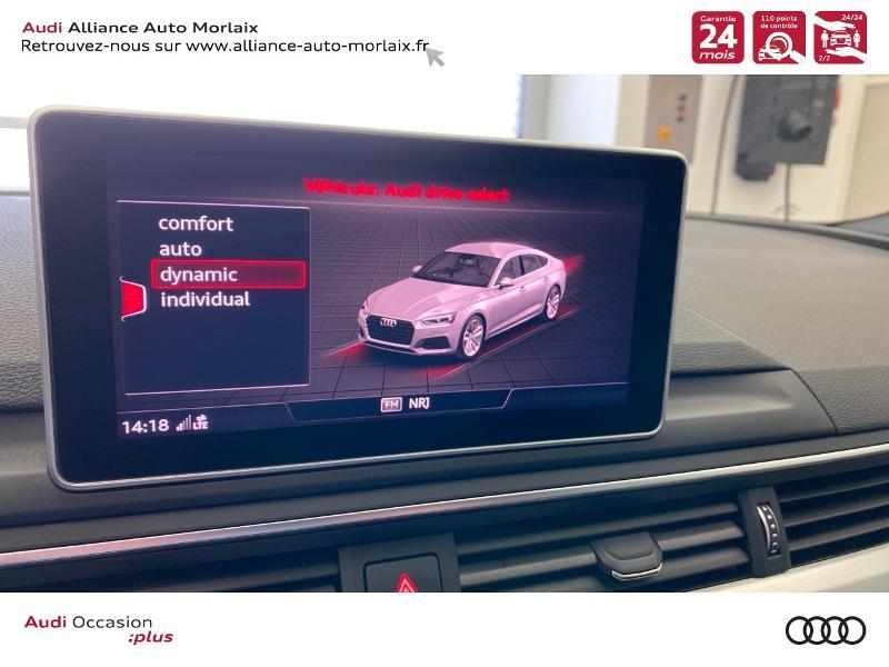 Photo 23 de l'offre de AUDI A5 Sportback 35 TFSI 150ch S line S tronic 7 Euro6d-T à 38290€ chez Alliance Auto – Audi Morlaix