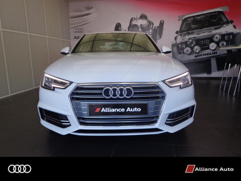 Photo 4 de l'offre de AUDI A4 Avant 2.0 TDI 150ch S line S tronic 7 à 33290€ chez Alliance Auto – Audi Morlaix