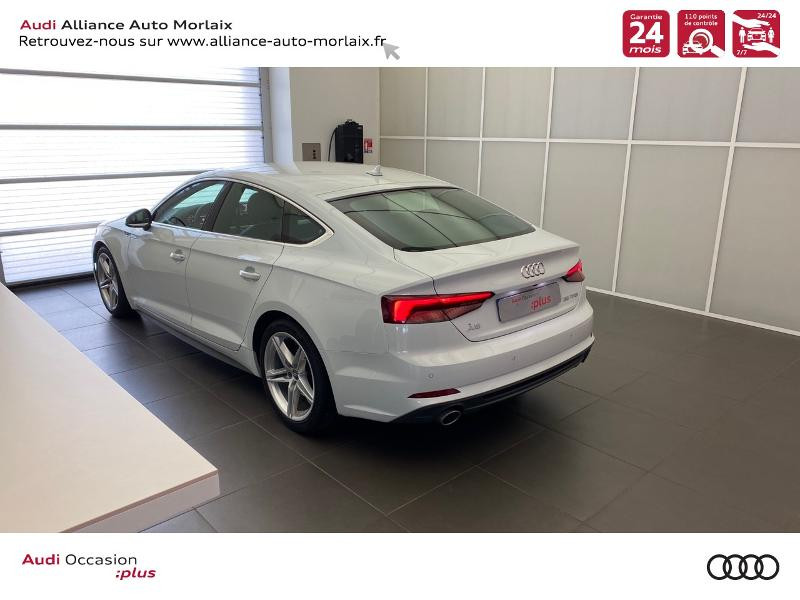 Photo 7 de l'offre de AUDI A5 Sportback 35 TFSI 150ch S line S tronic 7 Euro6d-T à 38290€ chez Alliance Auto – Audi Morlaix