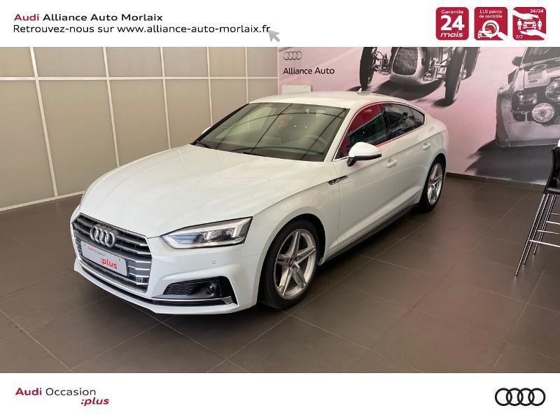 Photo 5 de l'offre de AUDI A5 Sportback 35 TFSI 150ch S line S tronic 7 Euro6d-T à 38290€ chez Alliance Auto – Audi Morlaix