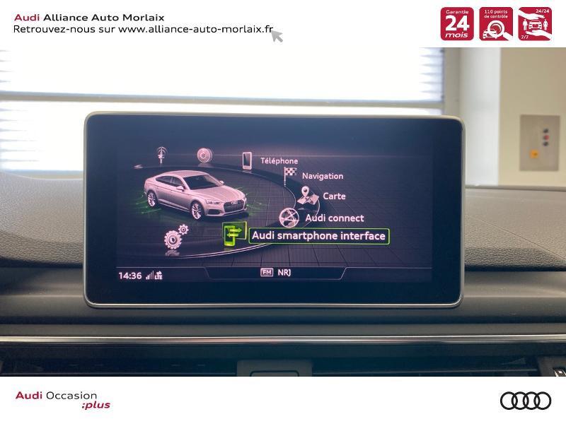 Photo 28 de l'offre de AUDI A5 Sportback 2.0 TDI 150ch S line S tronic 7 à 39790€ chez Alliance Auto – Audi Morlaix