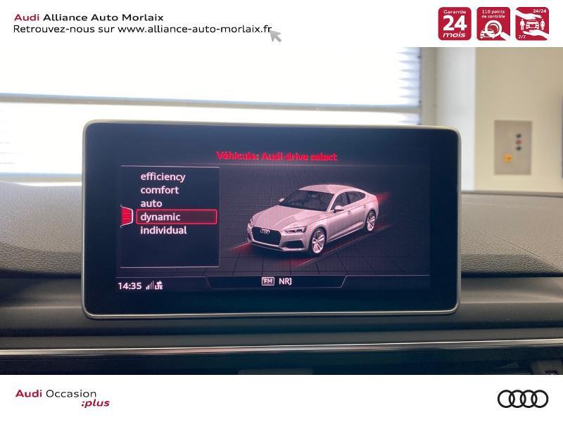 Photo 25 de l'offre de AUDI A5 Sportback 2.0 TDI 150ch S line S tronic 7 à 39790€ chez Alliance Auto – Audi Morlaix