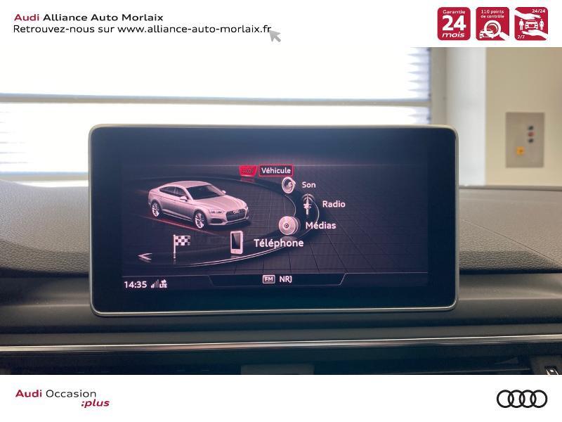 Photo 24 de l'offre de AUDI A5 Sportback 2.0 TDI 150ch S line S tronic 7 à 39790€ chez Alliance Auto – Audi Morlaix