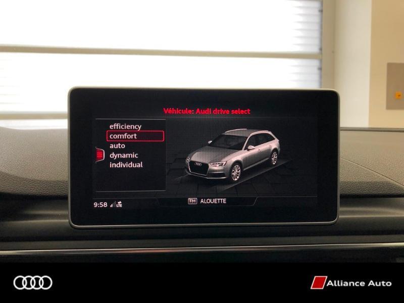 Photo 20 de l'offre de AUDI A4 Avant 3.0 V6 TDI 272ch Design Luxe quattro Tiptronic à 32790€ chez Alliance Auto – Audi Morlaix