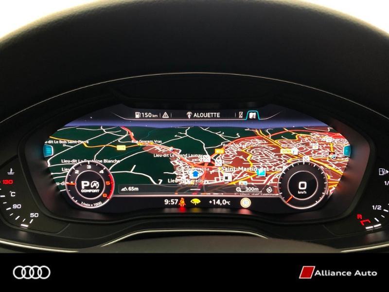 Photo 9 de l'offre de AUDI A4 Avant 3.0 V6 TDI 272ch Design Luxe quattro Tiptronic à 32790€ chez Alliance Auto – Audi Morlaix