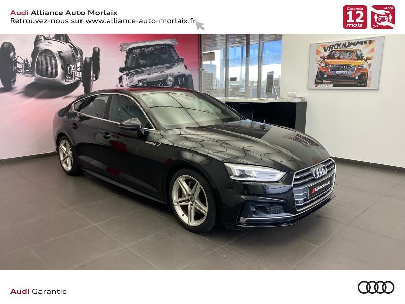 Audi A5 Sportback 2.0 TDI 190ch S line S tronic 7 Diesel Noir Métal Occasion à vendre