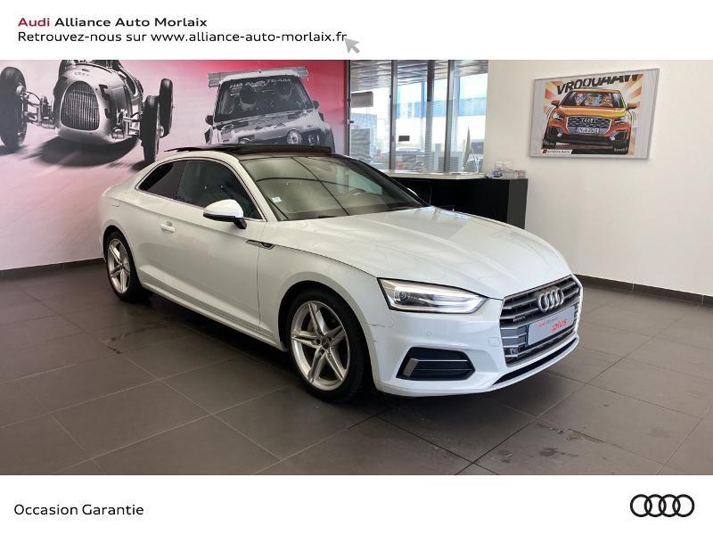 Audi A5 2.0 TFSI 252ch S line quattro S tronic 7 Essence Blanc Occasion à vendre