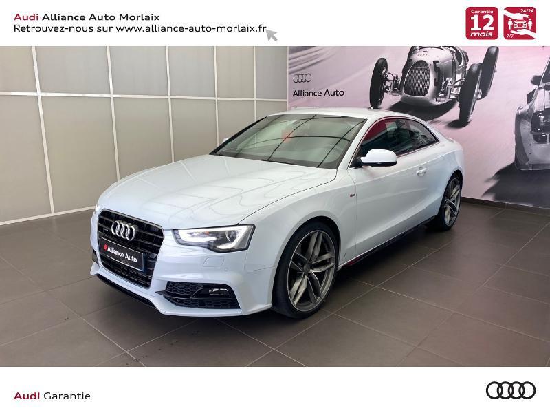 Photo 5 de l'offre de AUDI A5 3.0 TDI 218ch S line quattro S tronic 7 à 29990€ chez Alliance Auto – Audi Morlaix
