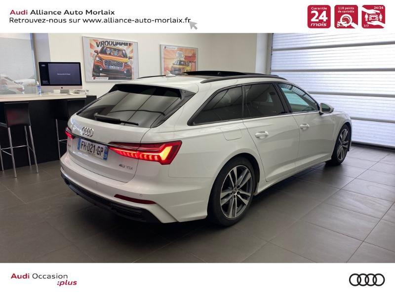 Photo 3 de l'offre de AUDI A6 Avant 40 TDI 204ch S line S tronic 7 à 47990€ chez Alliance Auto – Audi Morlaix