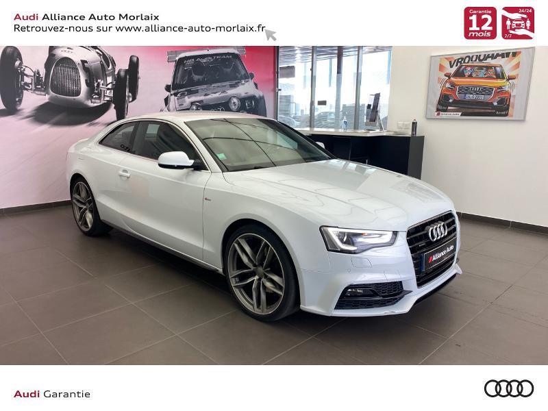 Photo 1 de l'offre de AUDI A5 3.0 TDI 218ch S line quattro S tronic 7 à 29990€ chez Alliance Auto – Audi Morlaix