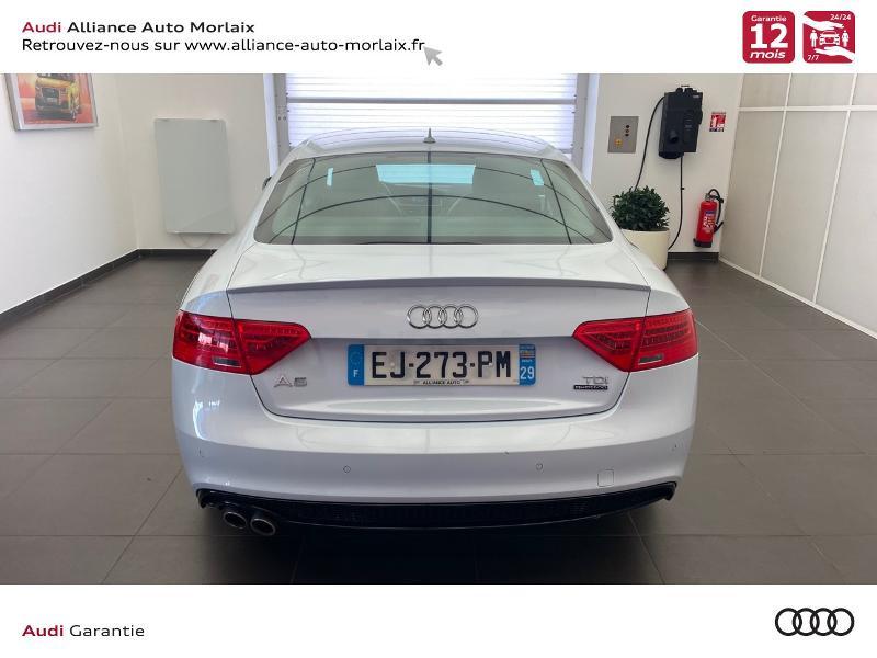 Photo 8 de l'offre de AUDI A5 3.0 TDI 218ch S line quattro S tronic 7 à 29990€ chez Alliance Auto – Audi Morlaix