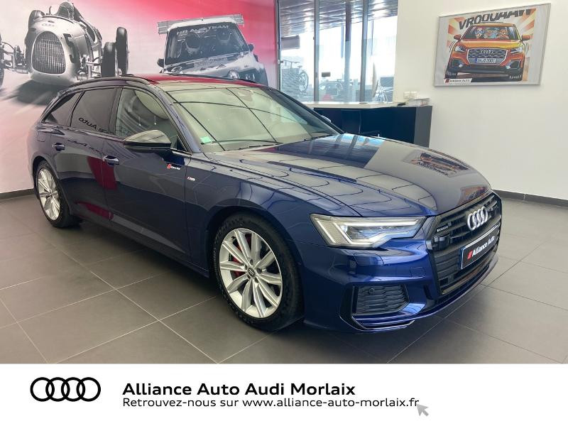 Audi A6 Avant 55 TFSI e 367ch Compétition quattro S tronic 7 Hybride BLEU NAVARRE Occasion à vendre
