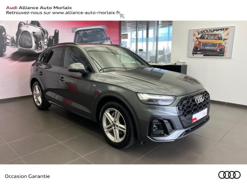 Audi Q5 35 TDI 163ch S line S tronic 7 Diesel GRIS DAYTONA Occasion à vendre