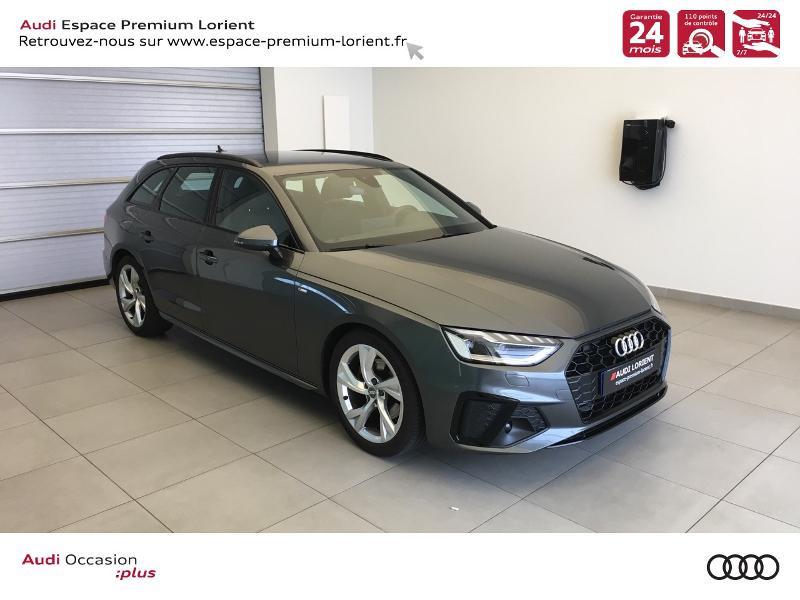 Photo 1 de l'offre de AUDI A4 Avant 35 TFSI 150ch S line S tronic 7 à 37990€ chez Espace Premium – Audi Lorient