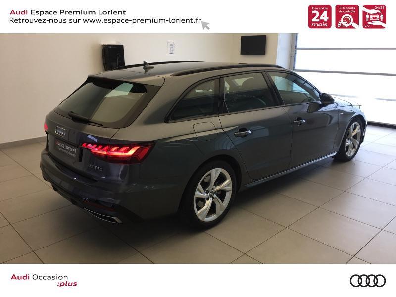 Photo 4 de l'offre de AUDI A4 Avant 35 TFSI 150ch S line S tronic 7 à 37990€ chez Espace Premium – Audi Lorient