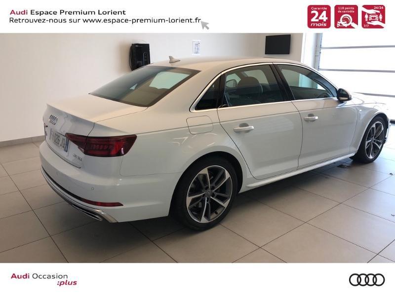 Photo 4 de l'offre de AUDI A4 35 TDI 150ch S line S tronic 7 Euro6d-T à 36990€ chez Espace Premium – Audi Lorient