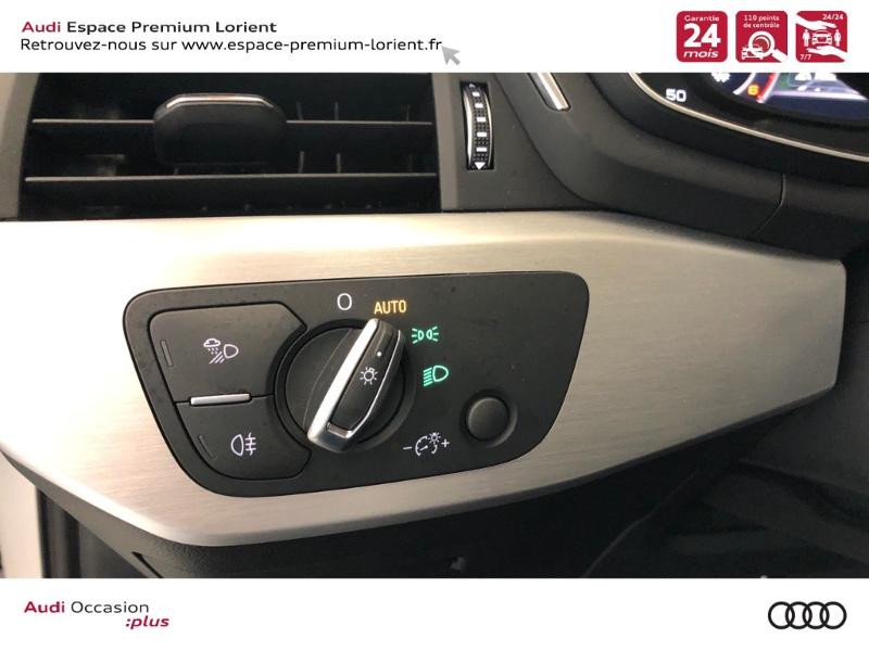 Photo 14 de l'offre de AUDI A4 35 TDI 150ch S line S tronic 7 Euro6d-T à 36990€ chez Espace Premium – Audi Lorient