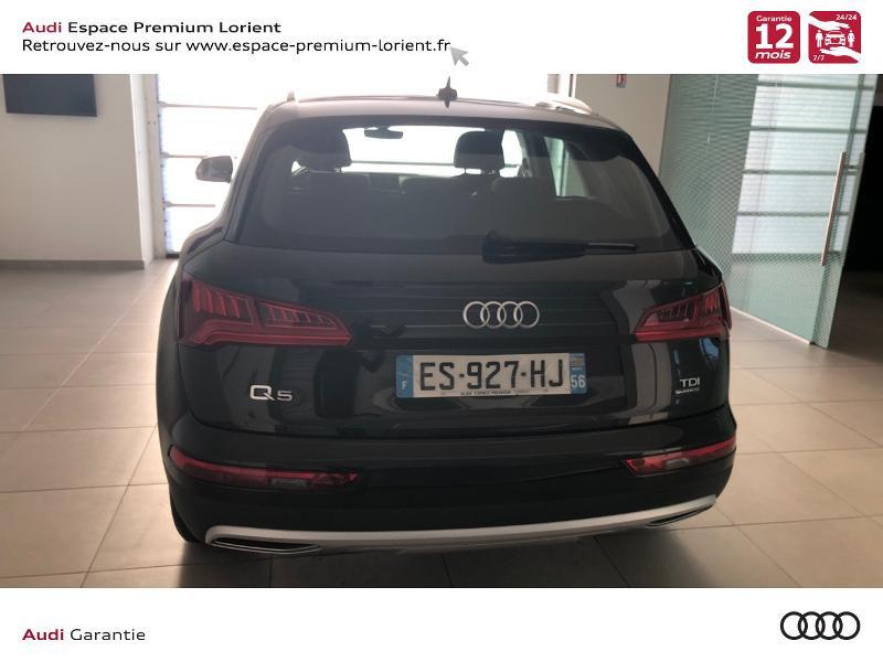 Photo 5 de l'offre de AUDI Q5 2.0 TDI 190ch Design quattro S tronic 7 à 32990€ chez Espace Premium – Audi Lorient