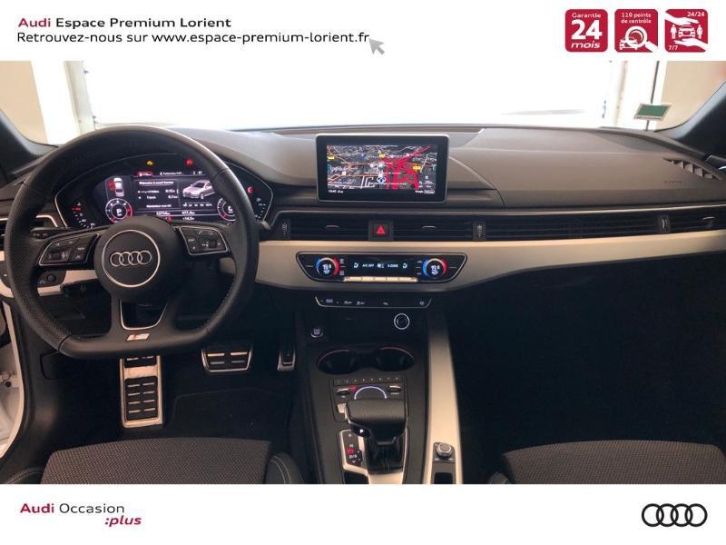 Photo 6 de l'offre de AUDI A4 35 TDI 150ch S line S tronic 7 Euro6d-T à 36990€ chez Espace Premium – Audi Lorient