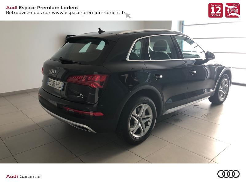 Photo 4 de l'offre de AUDI Q5 2.0 TDI 190ch Design quattro S tronic 7 à 32990€ chez Espace Premium – Audi Lorient