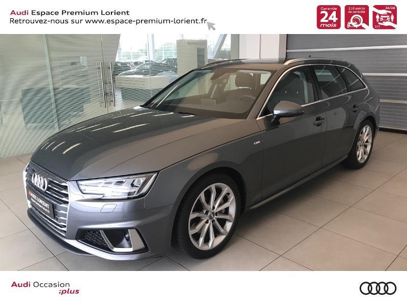 Photo 1 de l'offre de AUDI A4 Avant 2.0 TDI 190ch Design Luxe S tronic 7 à 37990€ chez Espace Premium – Audi Lorient
